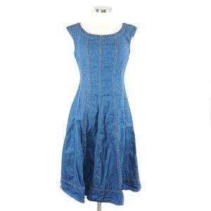 Pilcro by Anthropology  Denim Midi Dress